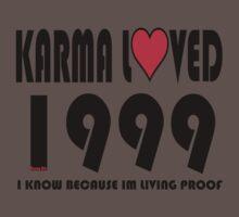 karma loved 1999 Baby Tee