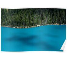 Shadows on Peyto Lake Poster