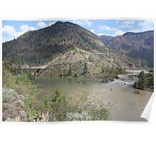 Fraser & Bridge River Poster