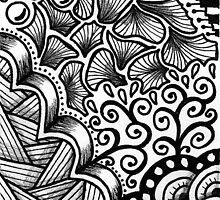 Doodle Tribal by minestea