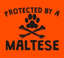 Protected By A Maltese Kids Clothes