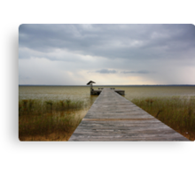 Storm on the Horizon Canvas Print