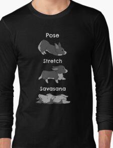 Yoga Corgi Long Sleeve T-Shirt