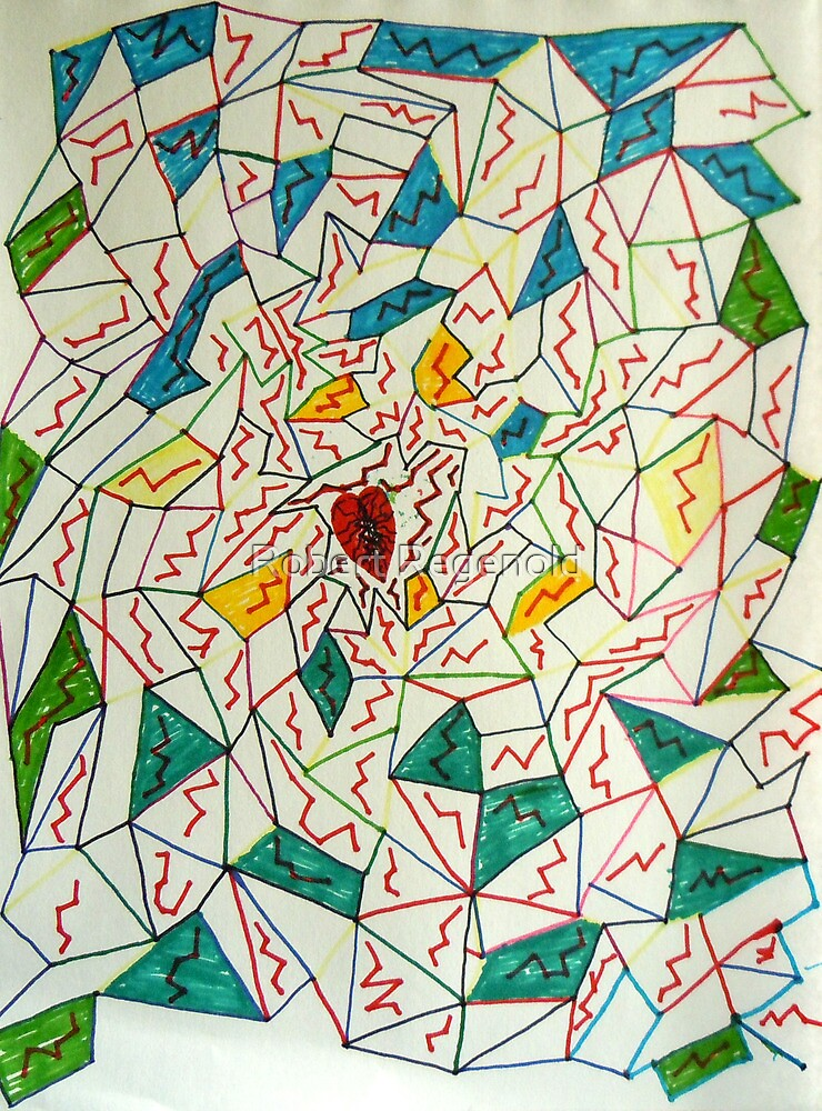 """Shattered Web of Deceit"" by Robert Regenold"