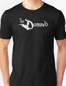 The Damned band logo screen printed retro T-Shirt