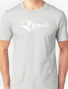 The Damned band logo screen printed retro T-Shirt