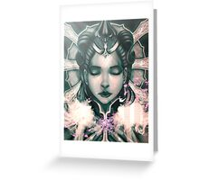 Crowned Queen Greeting Card