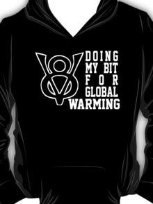 V8 Global Warming Funny T-Shirt
