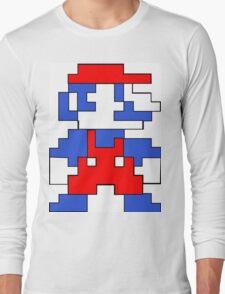 Mario Patriot Long Sleeve T-Shirt