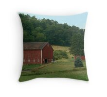 (Barn calendar) The Country Life Throw Pillow