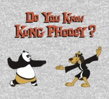 Do You Know Kung Phooey? One Piece - Short Sleeve