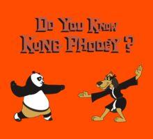 Do You Know Kung Phooey? Kids Tee