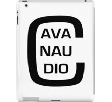 cavanaudio - eye chart iPad Case/Skin