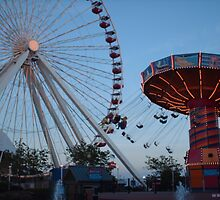 Navy Pier Chicago by SanJanPhotos