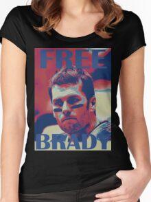 FREE BRADY Women's Fitted Scoop T-Shirt