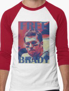 FREE BRADY Men's Baseball ¾ T-Shirt