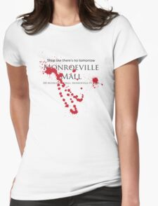 Monroeville Mall 2 Womens Fitted T-Shirt