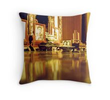 Ancestor Worship, Hanoi, Vietnam Throw Pillow