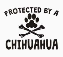 Protected By A Chihuahua Kids Clothes