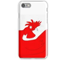 little red rooster iPhone Case/Skin