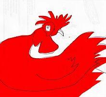 little red rooster by Matt Mawson