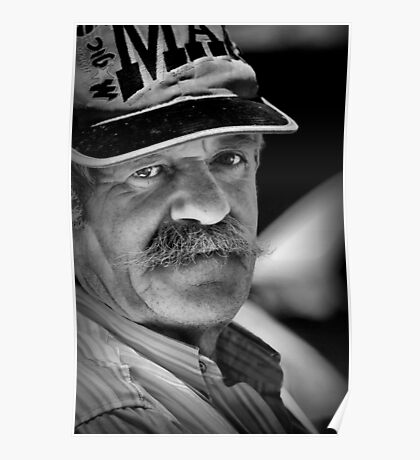 Portrait of a Greek Fisherman Poster
