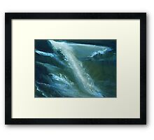 From darkness to light Framed Print
