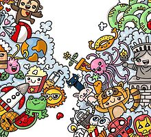 Doodle toons by minestea