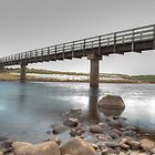 Melvich Bridge & Beach by Neil Crittenden