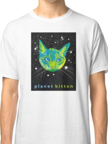 Planet Kitten Classic T-Shirt