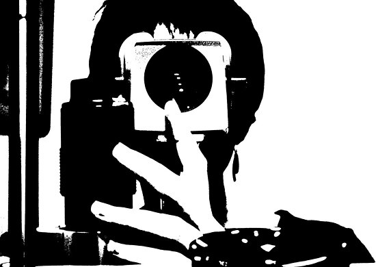 Through the lens by Monjii