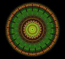 New Forest Mandala (wide) by Richard H. Jones