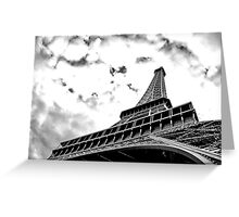 La dame de fer Greeting Card