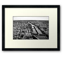 The Seine #1 Framed Print