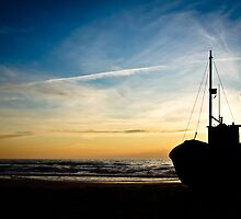 Sunset scene by Ulla Jensen