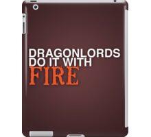 Dragon Lord Poster 2 iPad Case/Skin