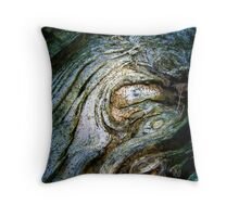 Ghost Knot Throw Pillow