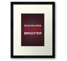 Dragon Lord Poster 1 Framed Print