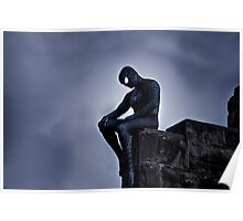 Black Spider-Man Poster
