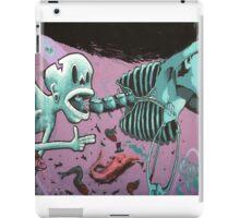 Skeleton Graffiti iPad Case/Skin