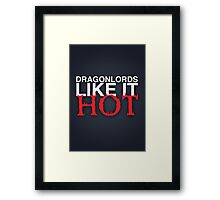Dragon Lord Poster 3 Framed Print