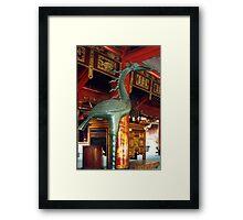 Phoenix, Temple of Literature, Hanoi, Vietnam Framed Print