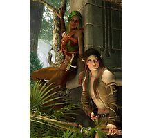 Wood Elves Photographic Print