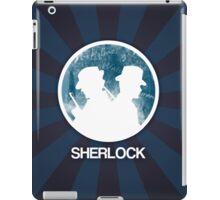 Sherlock Round Victorian Poster iPad Case/Skin