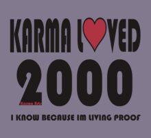 karma loved 2000 Kids Tee