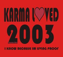 karma loved 2003 Kids Clothes