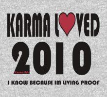 karma loved 2010 Baby Tee