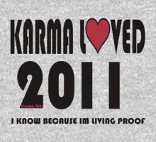 karma loved 2011 One Piece - Long Sleeve