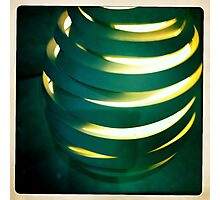 Hand Thrown Lamp Part 2 Photographic Print