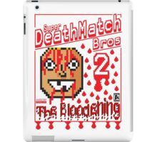 super deathmatch bros 2 iPad Case/Skin